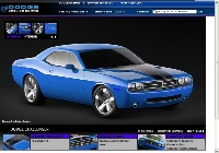 2008 Dodge Challenger, Blue