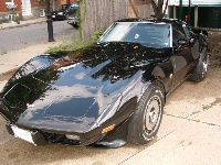 1979 Chevrolet Corvette Coupe, Color Black/Blue/silver  5 coats of clear  gm color Midnight mist, exterior