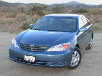 2003 Toyota Camry in Catalina blue