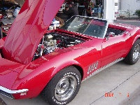 1968 Chevrolet Corvette Convertible, 39 Yrs Old Looks like it just rolled off the Show Room Floor ! Drives even better !!!!