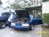 1988 Ford Mustang, 5.0 HO fill with mods. and boom boom booom.
