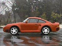 1989 Porsche 959 Overview