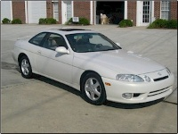 2000 Lexus SC 400, This is a frontview of the famous lexus SC 400, exterior