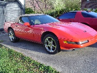 1994 Chevrolet Corvette Convertible, 1994 Corvette C5 Rims