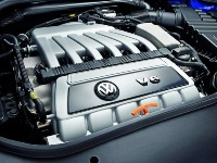 Engine of the 2008 Volkswagen R32