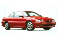 1994 Pontiac Grand Am 2 Dr SE Coupe, stock photo, red