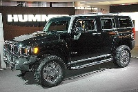 2007 Hummer H3 4 Dr H3X, The 2007 Hummer H3X at the Chicago Auto Show