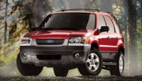 2007 Ford Escape Hybrid Base, Picture of 2007 Ford Escape, exterior