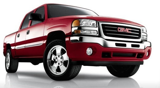 Front-quarter view of the 2007 GMC Sierra 1500 Crew Cab.