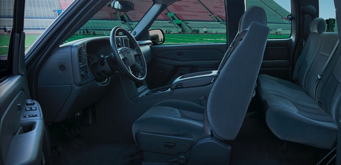 Interior of the 2007 GMC Sierra 1500 Extended Cab., exterior, manufacturer
