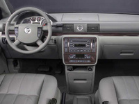 Interior of the 2007 Mercury Monterey Luxury.