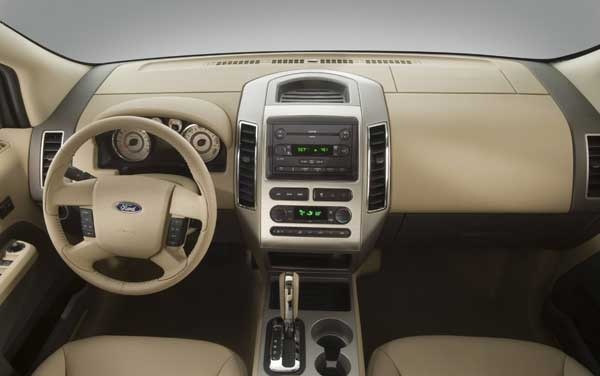2007 Ford Edge SEL AWD Interior Gallery Worthy