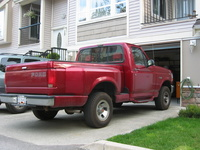 1992 Ford F-150 XL 4WD Stepside SB, Picture of 1992 Ford F-150 2 Dr XL 4WD Standard Cab Stepside SB