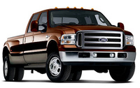 2006 Ford F-350 Super Duty, 2007 Ford F-350 Super Duty Lariat (Ford promotional photo from FordVehicles.com)