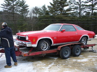 1973 Chevrolet Chevelle, Just out of paint shop last month