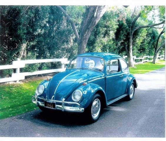 1966 Volkswagen Beetle, My 1966 VW in Sea Blue, Phoenix, AZ.