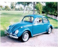 1966 Volkswagen Beetle, My 1966 VW with my mom and Dog, Phoenix, AZ.