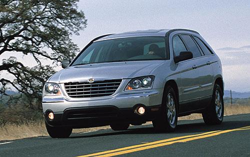 2004 Chrysler Pacifica Black 2004 Chrysler Pacifica Base