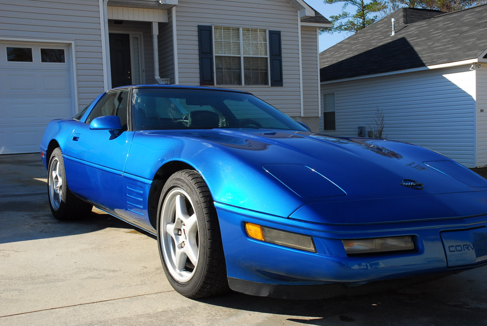 1991 Chevrolet Corvette Base, Picture of 1991 Chevrolet Corvette 2 Dr STD Hatchback, exterior