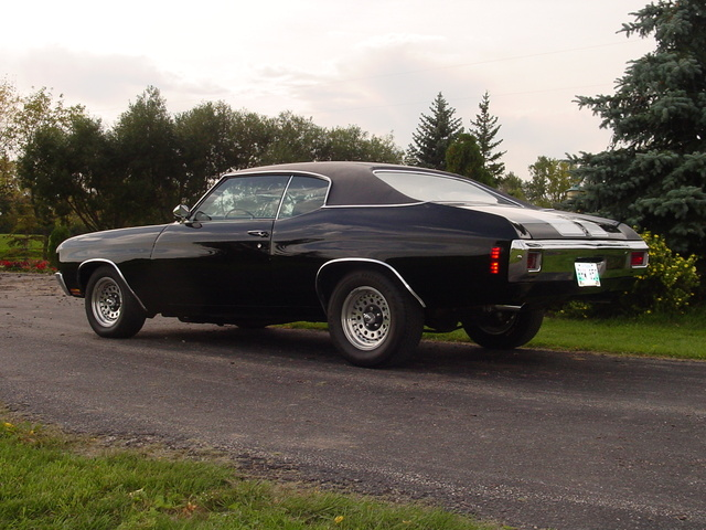 1970 Chevrolet Chevelle, 70 Chevelle SS rear view, gallery_worthy