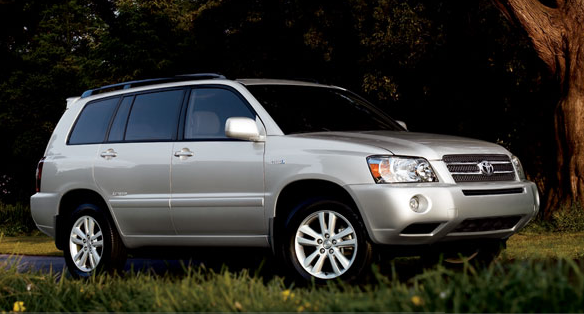 2007 Toyota Highlander, The 07 Toyota Highlander, exterior