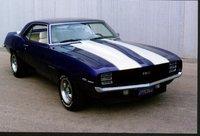 "1969 Chevrolet Camaro, 1969 Camaro RS/SS HiPro 350, 700R trans, 10"" posi, Purple w/ white stripes and white interior, gallery_worthy"