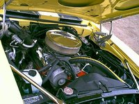1969 Chevrolet Camaro, 1969 Camaro RS/SS 350 engine