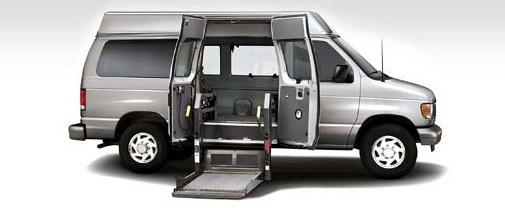 2007 Ford E-150, Side view of the 2007 Ford Econoline Cargo van with the cargo door open., exterior, manufacturer