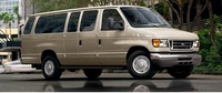 2007 Ford Econoline Wagon, Side view of the 2007 Ford Econoline Cargo van., exterior, manufacturer