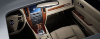2007 Cadillac STS front seat area, interior, manufacturer