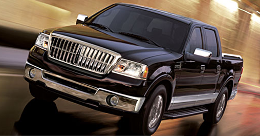 The 07 Lincoln Mark LT