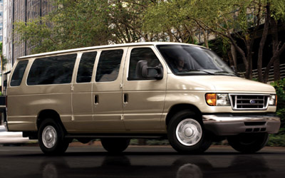 2007 Ford Econoline Wagon, Ford Econoline Wagon 2007 (Ford promotional photo), exterior, manufacturer