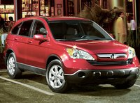 2007 Honda CR-V, The 07 Honda CR-V, manufacturer, exterior, red