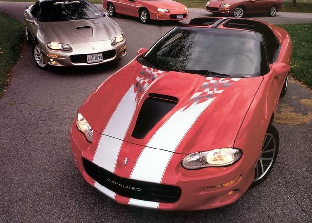 2002 Chevrolet Camaro Z28 Coupe, 2002 Camaro Z29 SS LS1 six speed, exterior