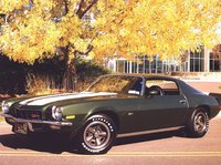 1972 Chevrolet Camaro, 1972 Camaro Z28 Green w/ White stripes, gallery_worthy