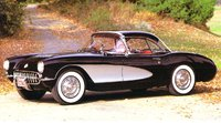 1956 Chevrolet Corvette, 1957 Corvette Coupe w/ Black Hardtop, gallery_worthy