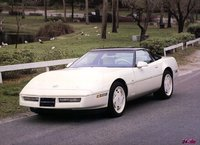 1988 Chevrolet Corvette Coupe, 1989 Corvette Coupe in White, exterior, gallery_worthy
