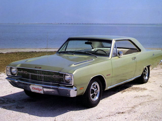 1969 Dodge Dart GTS 340 green