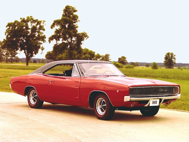 1968 Dodge Charger, exterior