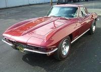 1967 Chevrolet Corvette 2 Dr STD Convertible, 1967 Corvette Convertible Maroon