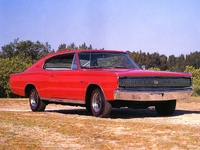 1967 Dodge Charger Red