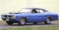 1971 Dodge Dart, 1971 Dodge Demon 340 Six Pack Blue