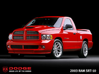 2006 Dodge Ram SRT-10, 2003 Dodge Ram SRT-10 concept pickup truck for 2006