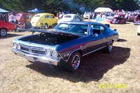 1968 Chevrolet Chevelle, 1968 Chevelle SS396 with the L78, 4 speed muncie.  Nice frame off restoration.
