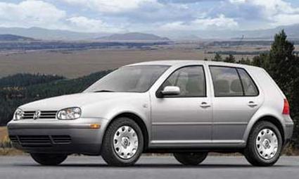 2002 Volkswagen Golf, The 2006 Volkswagen Golf, exterior