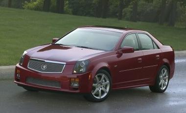 2006 Cadillac CTS-V, 06 Cadillac CTS, exterior