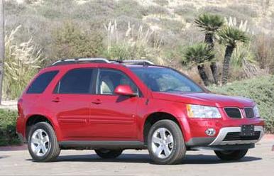 The 2006 Pontiac Torrent, exterior