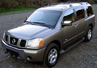 The 2006 Nissan Armada, exterior