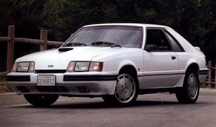 1986 Ford Mustang, A 1984 Mustang SVO.