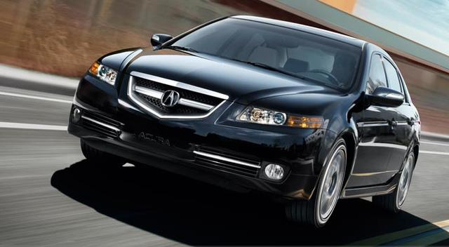 2008 Acura TL, 07 Acura TL